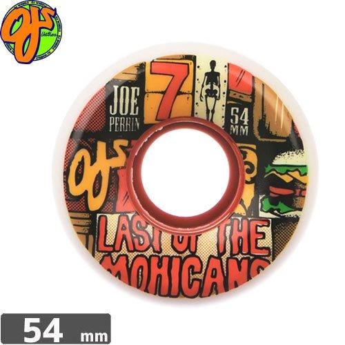【オージェイ OJ3 スケボー ウィール】KEYFRAME PERRIN LAST OF THE MOHICANS [54mm 87A]NO32
