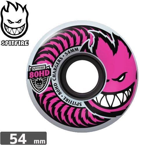 【SPITFIRE スピットファイア ウィール】80HD CLASSIC PUSHING FOR PINK 【54mm】NO201