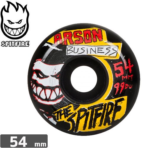 【SPITFIRE スピットファイア ウィール】ARSON BUSINESS 99A 【54mm】NO203