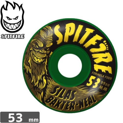 【SPITFIRE スピットファイア ウィール】SILAS SKUNK APE FORMULA FOUR RADIAL 99DURO【53mm】NO205