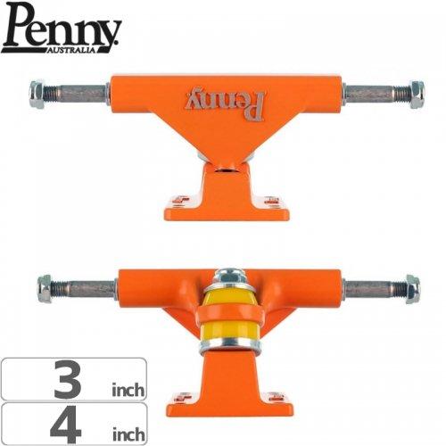 【ペニー PENNY スケボー トラック】High Quality Aluminum Cast オレンジ【3インチ】NO13