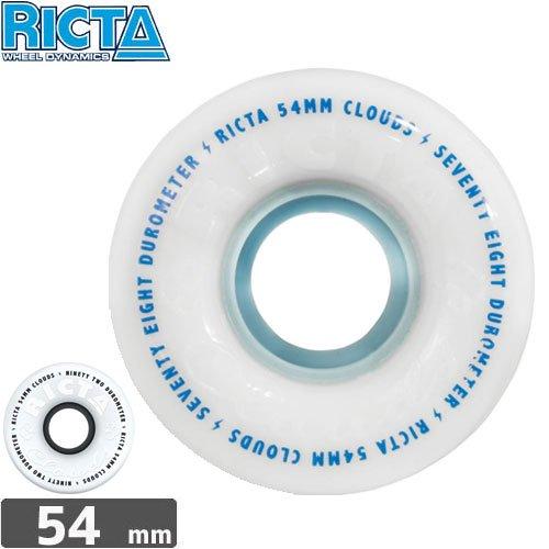 【リクタ RICTA スケボー ウィール】CLOUD【54mm】NO29
