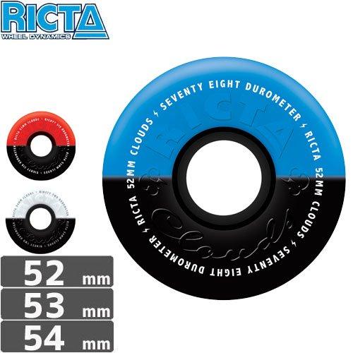 【リクタ RICTA スケボー ウィール】CLOUD DUOTONES【52mm】【53mm】【54mm】NO30