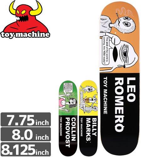 【トイマシーン TOY MACHINE デッキ】TRACTS DECK[7.75インチ][8.0インチ][8.1インチ]NO150