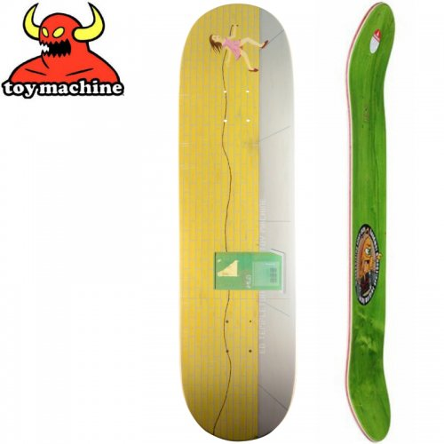 【トイマシーン TOY MACHINE デッキ】ED TEMPLETON ART DECK[8.5インチ]NO151