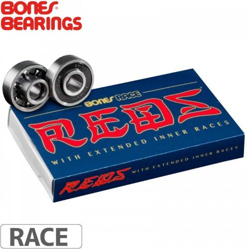 【ボーンズ BONES BEARINGS スケボー ベアリング】RACING REDS BEARINGS【レーシング】NO8