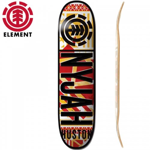 【ELEMENT エレメント スケートボード デッキ】NYJAH KNOCKOUT  [8.25インチ]NO17