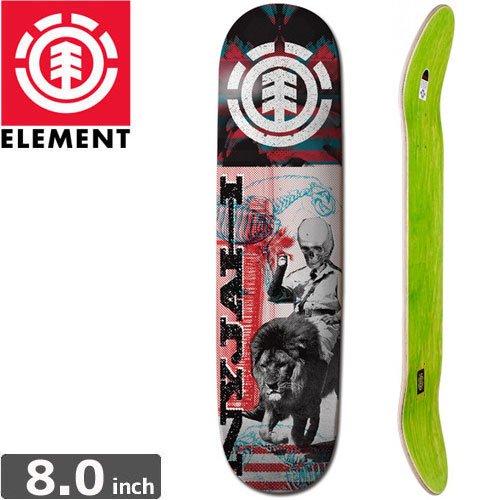 【ELEMENT エレメント スケートボード デッキ】NYJAH OVERPRINT [8.0インチ]NO18