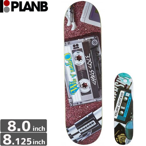 【プランビー PLAN-B デッキ】MIXTAPE BLACK ICE [8.0インチ] [8.125インチ]NO116