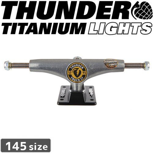 【THUNDER スケボー トラック】TITANIUM MAIN CHR TRUCKS【145】NO112