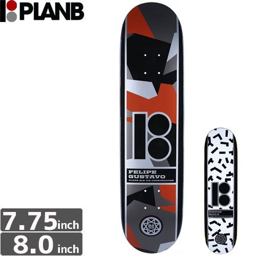 【プランビー PLAN-B デッキ】CAMO[8.0インチ]NO119