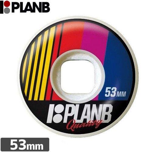 【PLAN-B プランビー ウィール】RACE DAY【53mm】NO17