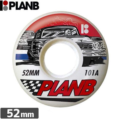 【PLAN-B プランビー ウィール】RACER【52mm】NO18