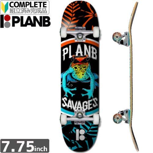 【PLAN-B プランビー スケボー コンプリート】TEAM SAVAGES [7.75インチ]NO15