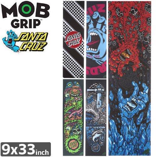 【モブグリップ MOB GRIP デッキテープ】GRAPHIC【SANTA CRUZ】【9 x 33】NO151