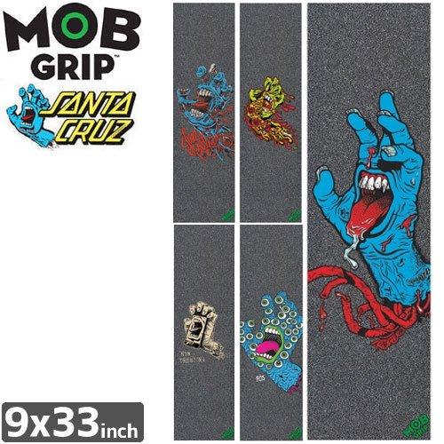 【モブグリップ MOB GRIP デッキテープ】SCREAMING HAND ART SHOW ASSORTED GRAPHIC【SANTA CRUZ】【9 x 33】NO152