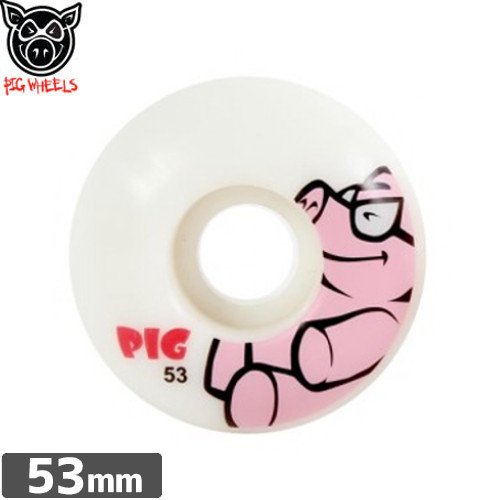 【ピッグ PIG WHEELS ウィール】ANIMAL FRIENDS WHEELS【PIG】【53mm】NO39