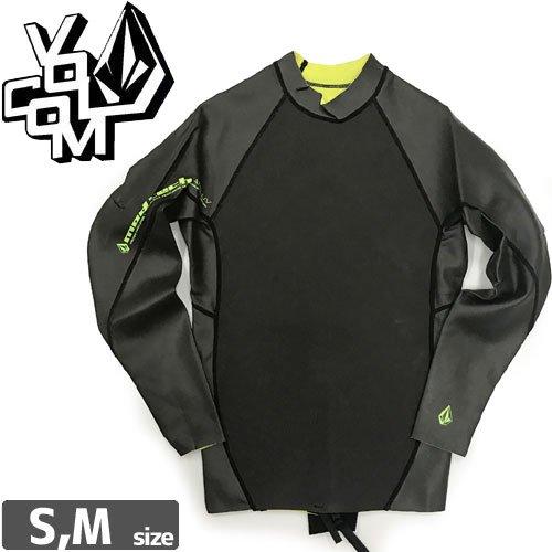 【VOLCOM ボルコム ウェットスーツ タッパ】SMOOTHNESS JACKET 2010【タールブラック】NO7