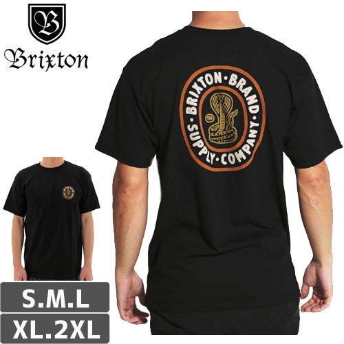 【BRIXTON ブリクストン スケボー Tシャツ】PACE TEE【ブラック】NO11