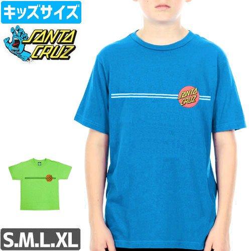 【サンタクルズ SANTA CRUZ キッズ Tシャツ】CLASSIC DOT YOUTH TEE【ユース サイズ】NO48