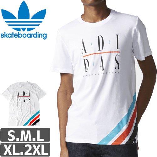 【アディダス ADIDAS SKATEBOARDING Tシャツ】COURTSIDE TEE NO22