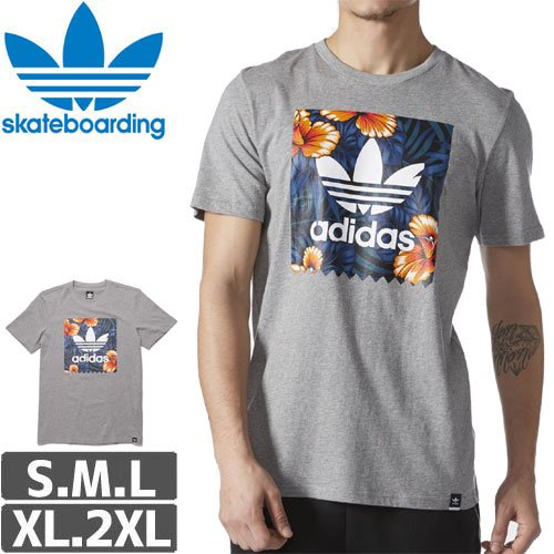 【アディダス ADIDAS SKATEBOARDING Tシャツ】SWEET LEAF BLACKBIRD TEE NO23