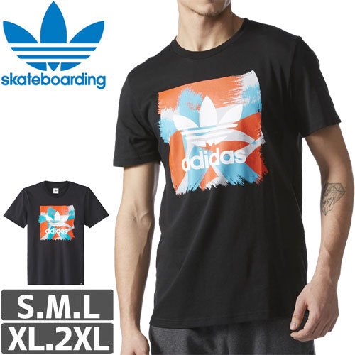 【アディダス ADIDAS SKATEBOARDING Tシャツ】COURTSIDE BLACKBIRD TEE NO25