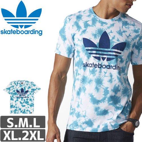 【アディダス ADIDAS SKATEBOARDING Tシャツ】CRYSTAL 3.0 TEE NO27