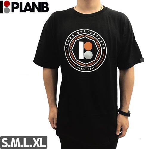 【プランビー PLAN-B スケボーTシャツ】OCTOGON SS【ブラック】NO24