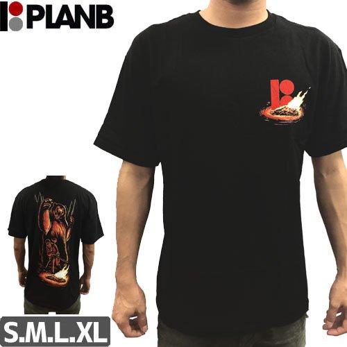 【プランビー PLAN-B スケボーTシャツ】CAMP KARMA SS【ブラック】NO25