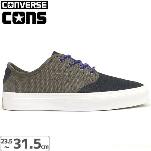 【CONS CONVERSE コンバース スケート シューズ】ZAKIM SUEDE OX SHOES NO20