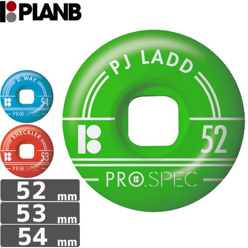 【PLAN-B プランビー ウィール】PRO SPEC WHEELS【52mm】【53mm】【54mm】NO20