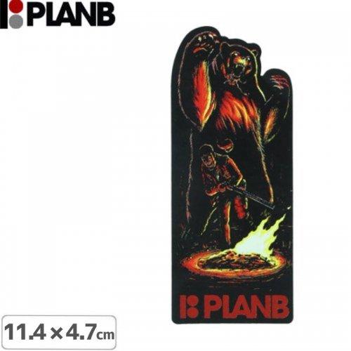 【プランビー PLAN-B スケボー STICKER ステッカー】CAMP KARMA【11.4cm × 4.7cm】NO12