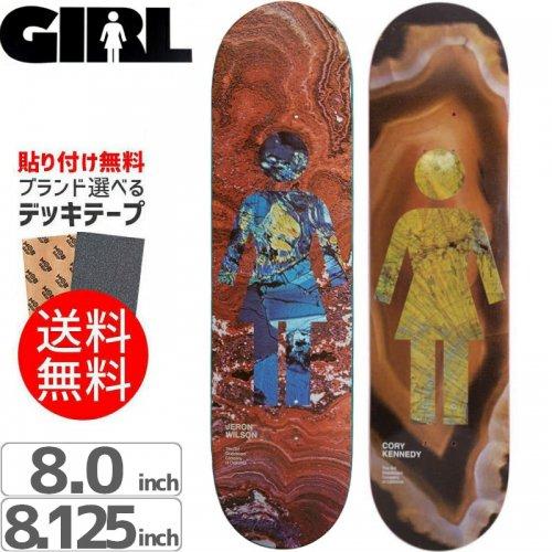 【ガール GIRL スケボーデッキ】GEOL OG SERIES DECK[7.7インチ][8.0インチ][8.1インチ]NO195