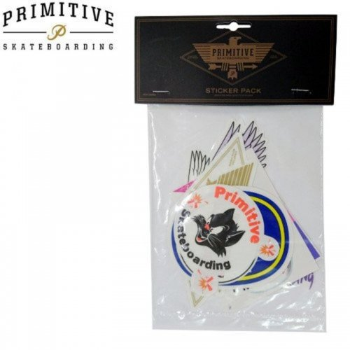 【プリミティブ PRIMITIVE スケボー ステッカー】STICKER PACK【8枚入り】NO14