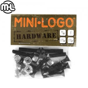 【MINI LOGO  ミニロゴ スケートボード ビス】HARDWARE BOLT【1-1/4インチ プラス】 NO2