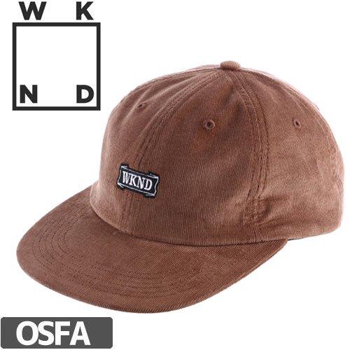 【ウィークエンド WKND スケボー キャップ】QUALITY STRAPBACK HAT NO1