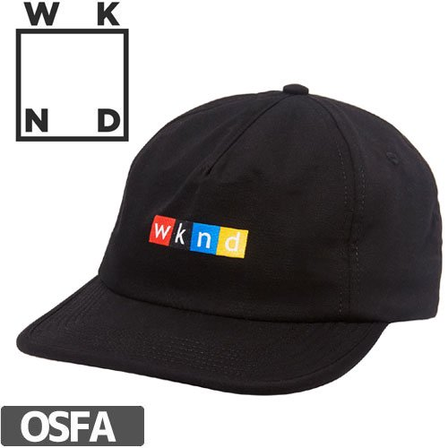 【ウィークエンド WKND スケボー キャップ】NPW SNAPBACK HAT NO2