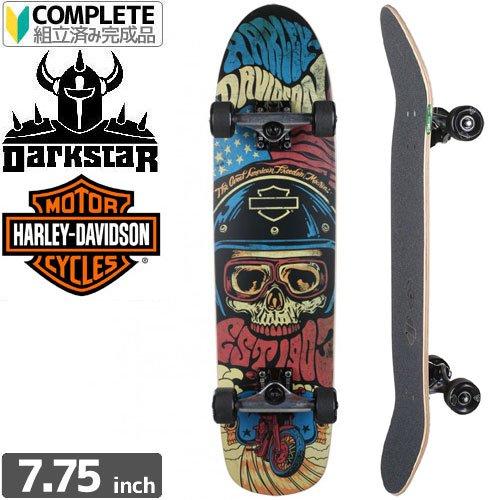 【ダークスター DARKSTAR スケートボード コンプリート】HARLEY-DAVIDSON LEGEND クルーザー[31インチ]NO36