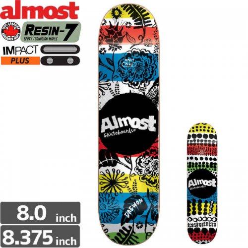 【オルモスト ALMOST デッキ】PRIMAL PRINTS IMPACT PLUS[8.3インチ]NO105