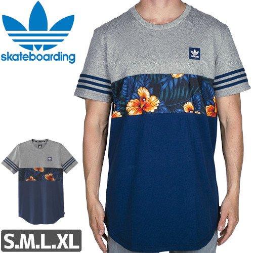 【アディダス ADIDAS SKATEBOARDING Tシャツ】SWEET LEAF BLOCKED TEE NO29