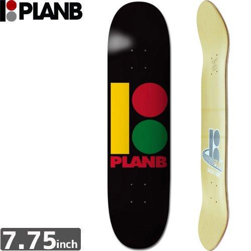 【プランビー PLAN-B デッキ】TEAM RASTA B DECK [7.75インチ]NO132