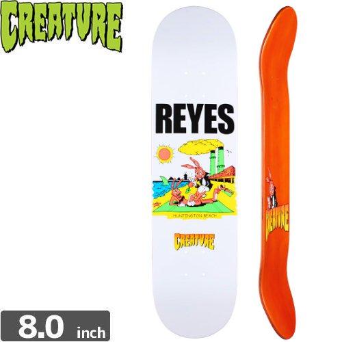 【クリーチャー CREATURE スケートボード デッキ】REYES HB DECK[8.0インチ]NO142