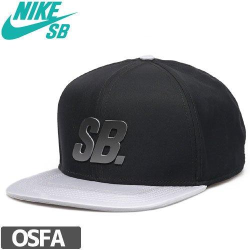 【ナイキ エスビー NIKE SB スケボー キャップ】DRI-FIT FADE CAP【ブラック x グレー】NO23