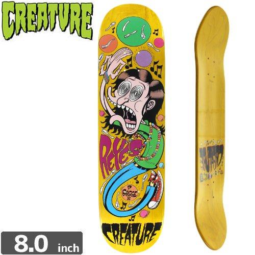 【クリーチャー CREATURE スケートボード デッキ】BAGGE IT REYES PRO [8.0インチ]NO143