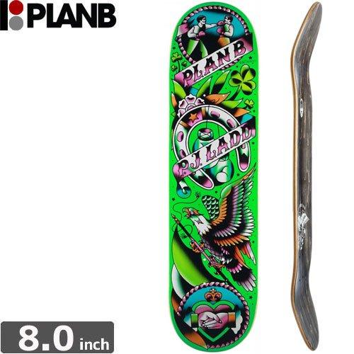 【プランビー PLAN-B デッキ】PJ LADD COLOR FLASH [8.0インチ]NO135