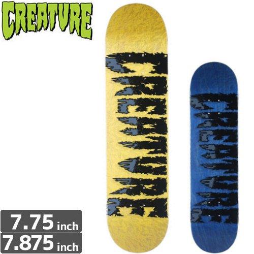 【クリーチャー CREATURE スケートボード デッキ】SHREDDED TEAM DECK [7.7インチ] [7.8インチ] NO146