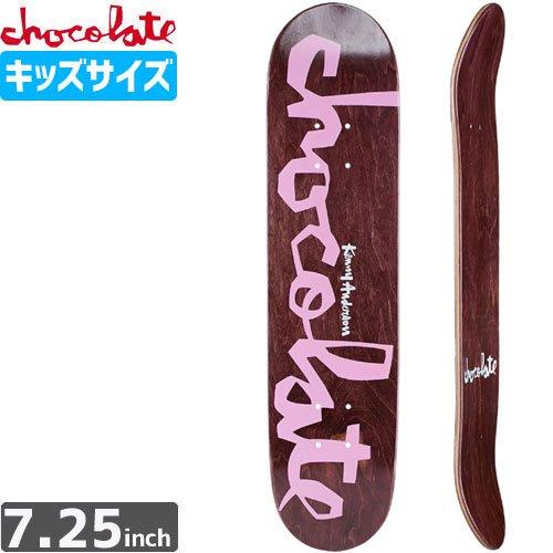 【チョコレート CHOCOLATE スケボー デッキ】ANDERSON ORIGINAL CHUNKMINI DECK【7.2インチ】NO03