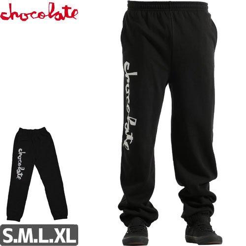 【チョコレート CHOCOLATE スウェットパンツ】CHUNK SWEATPANTS【ブラック】NO10