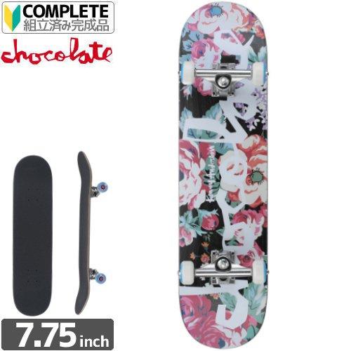 【チョコレート CHOCOLATE スケボー コンプリート】ANDERSON FLORAL CHUNK COMPLETE【7.7インチ】NO16